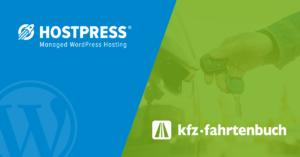 KFZ Fahrtenbuch HostPress WordPress Hosting